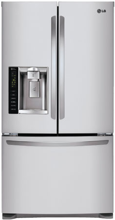 Lg Stainless French Door Refrigerator Lfx25974st Abt