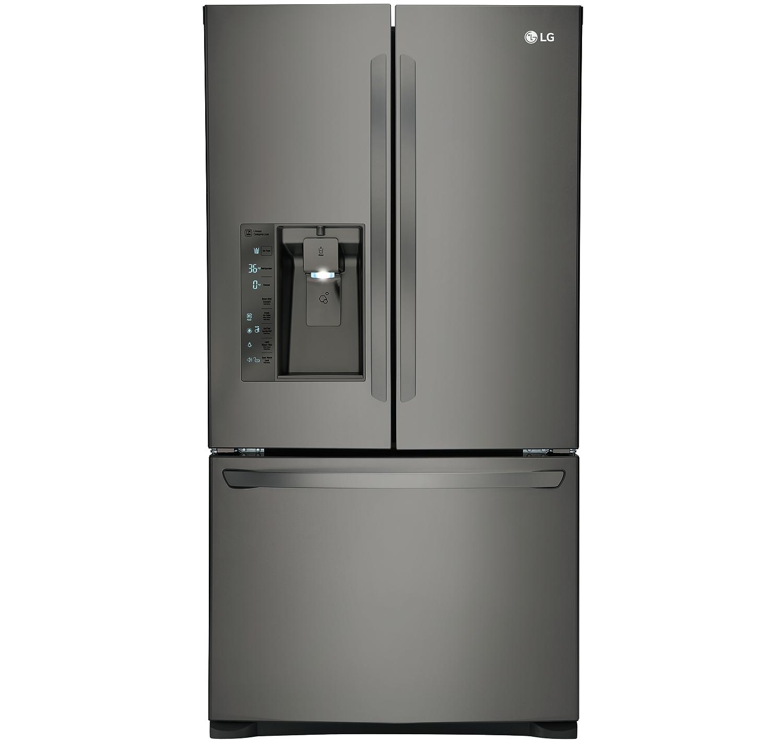lg counter depth bottom freezer refrigerator lfxc24726d. Black Bedroom Furniture Sets. Home Design Ideas