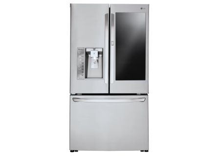 LG 24 Cu. Ft. Stainless Steel InstaView Door-In-Door Counter-Depth French Door Refrigerator  - LFXC24796S
