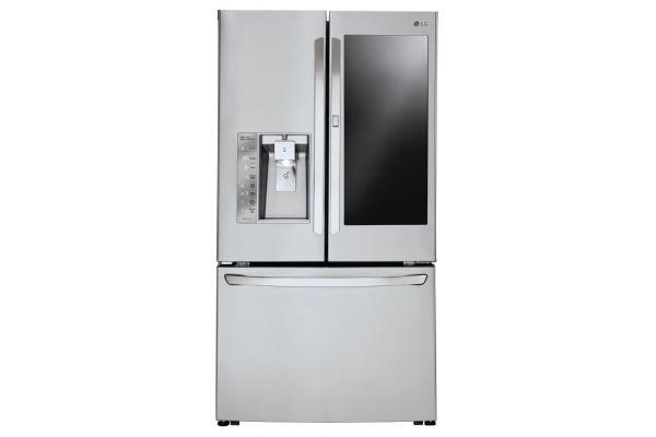 LG 24 Cu. Ft. Stainless Steel InstaView Door-In-Door Counter-Depth French Door Refrigerator  - LFXC24796S