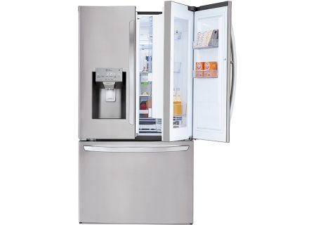 LG Stainless Steel 3-Door French Door Refrigerator - LFXS28566S