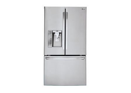 LG Stainless Steel French Door Bottom Freezer Refrigerator - LFXS30726S