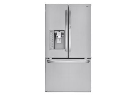 LG 29.6 Cu. Ft. Stainless Steel French Door Refrigerator With Bluetooth Speaker  - LFXS30786S