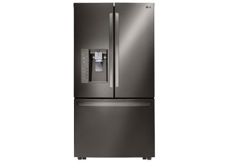 LG Black Stainless Steel French Door Refrigerator - LFXS32736D