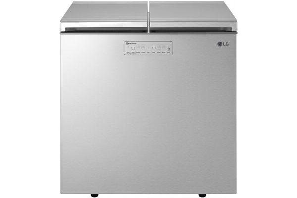 LG Platinum Silver Kimchi/Specialty Food Refrigerator Chest - LKIM08121V