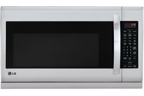 Large image of LG Stainless Steel Over-The-Range Microwave Oven - LMH2235ST