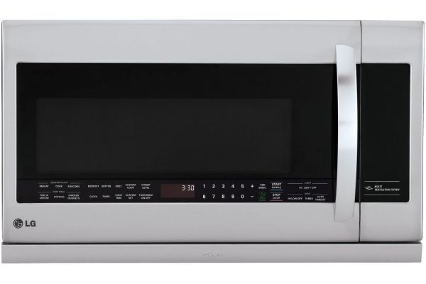 Large image of LG 2.2 Cu. Ft. Stainless Steel Over-The-Range Microwave Oven With EasyClean - LMHM2237ST
