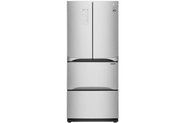 LG Platinum Silver Kimchi/Specialty Food French Door Refrigerator - LMNS14420V