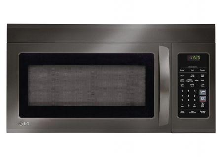 LG Black Stainless Steel Over-The-Range Microwave Oven - LMV1831BD