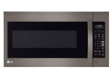 LG 2.0 Cu. Ft. Black Stainless Steel  Over The Range Microwave Oven  - LMV2031BD