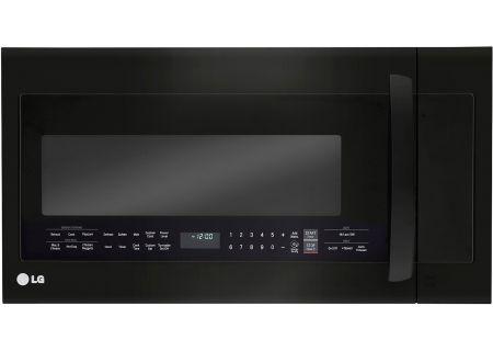 Lg Matte Black Stainless Microwave Oven Lmvm2033bm