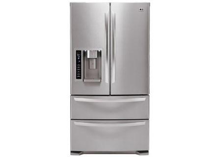 LG - LMX25984ST - Bottom Freezer Refrigerators