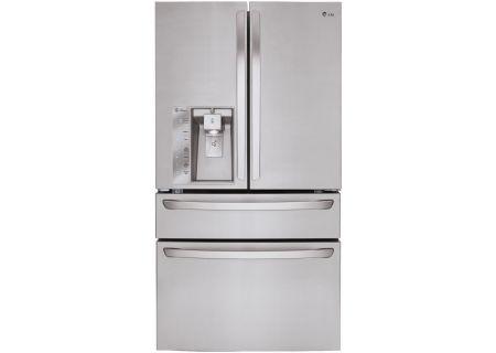 LG Stainless Steel 4-Door French Door Bottom Freezer Refrigerator - LMXC23746S