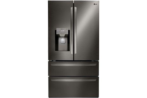 LG Black Stainless Steel 4-Door French Door Refrigerator - LMXS28626D