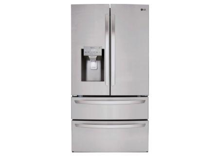 LG 28 Cu. Ft. Stainless Steel 4-Door French Door Refrigerator  - LMXS28626S