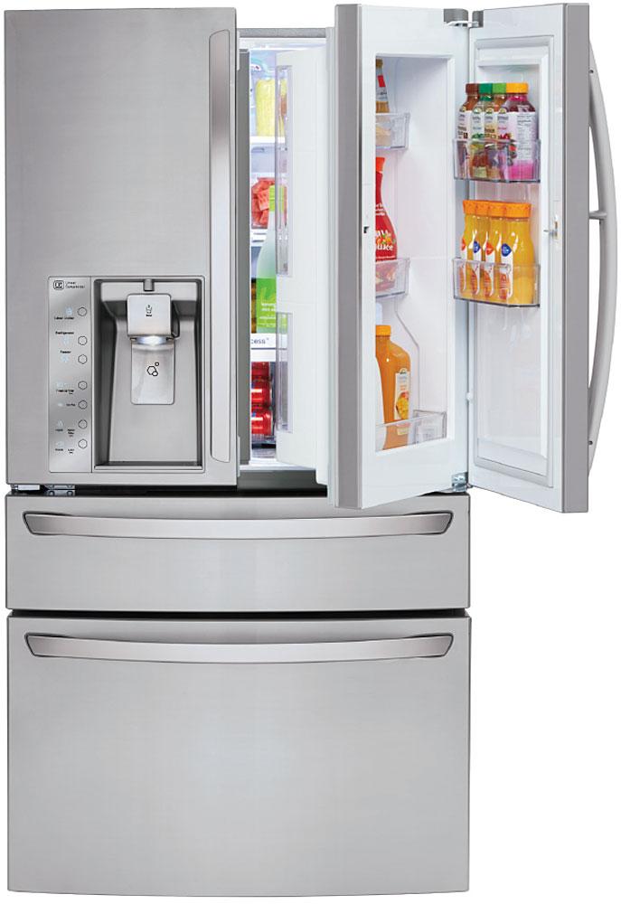 Lg Stainless 4 Door French Door Refrigerator Lmxs30776s