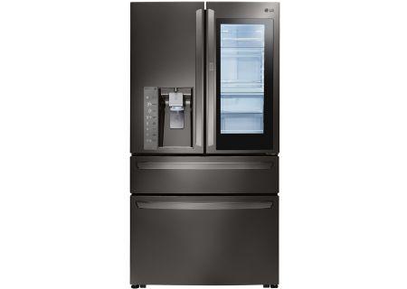 LG Black Stainless Steel InstaView Door-In-Door Refrigerator - LMXS30796D