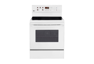 LG - LRE3023SW - Electric Ranges