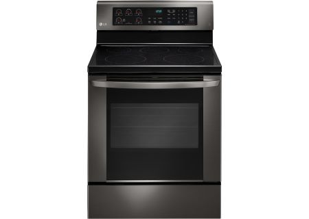 LG - LRE3061BD - Electric Ranges