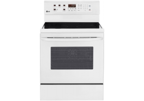 LG - LRE3083SW - Free Standing Electric Ranges