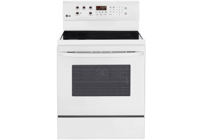LG - LRE3083SW - Electric Ranges