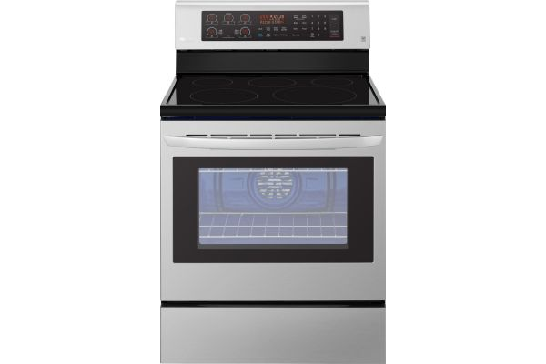 LG Stainless Steel Freestanding Electric Range - LRE3194ST