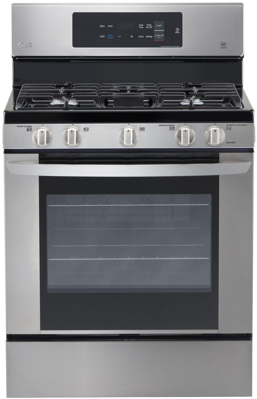 Lg Stainless Steel Freestanding Gas Range Lrg3061st