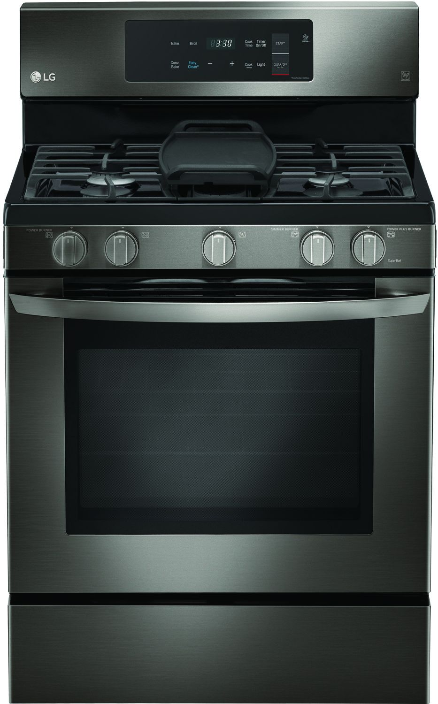 Lg Black Stainless Steel Freestanding Gas Range Lrg3193bd