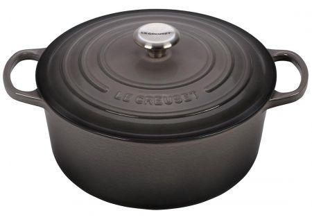Le Creuset Signature 5.5 Quart Oyster Round Dutch Oven - LS2501-267FSS
