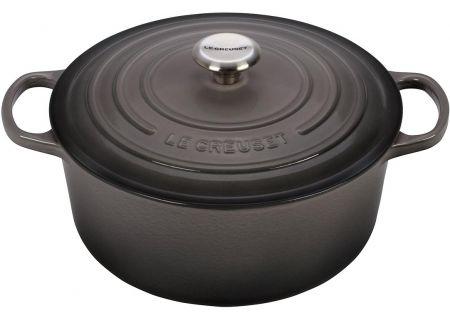 Le Creuset Signature 7.25 Quart Oyster Round Dutch Oven - LS2501-287FSS