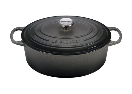 Le Creuset 6.75-Quart Cast Iron Oyster Oval Dutch Oven - LS2502-317FSS
