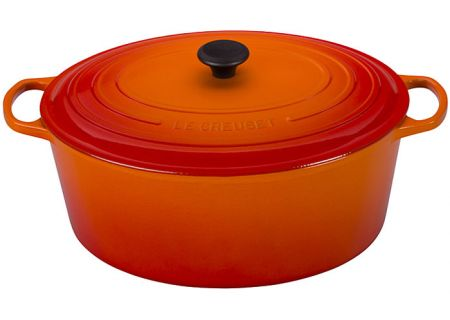 Le Creuset 15.5 Quart Flame Oval French Oven Goose Pot - LS2502402