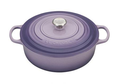 Le Creuset 6.75 Qt. Provence Round Wide Dutch Oven - LS255230BPSS