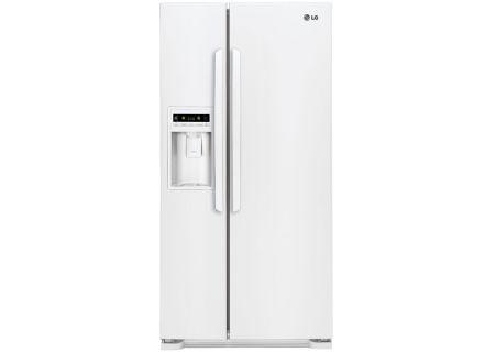 LG - LSC23924SW - Side-by-Side Refrigerators