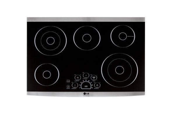 "LG STUDIO 30"" Stainless Steel Radiant Electric Cooktop  - LSCE305ST"