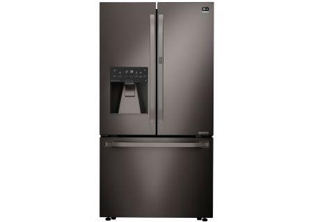 LG STUDIO Black Stainless Steel French Door Refrigerator - LSFXC2476D