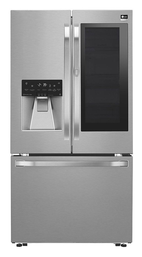 Lg Studio Instaview Counter Depth Refrigerator Lsfxc2496s