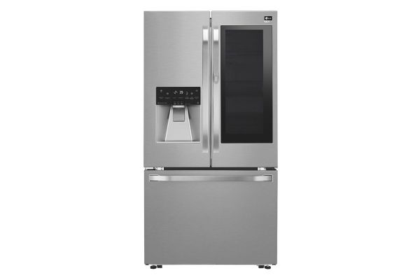 LG Studio Stainless Steel InstaView Door-In-Door Counter-Depth French Door Refrigerator  - LSFXC2496S