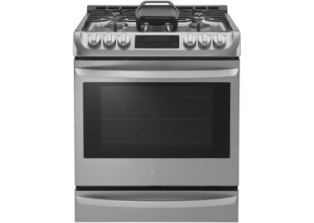 "LG 30"" Stainless Steel Slide-In Gas Range - LSG4513ST"