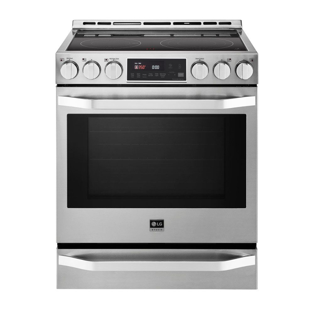 Lg Studio Stainless Electric Slide In Range Lsse3026st