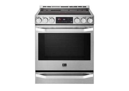 LG - LSSE3026ST - Slide-In Electric Ranges