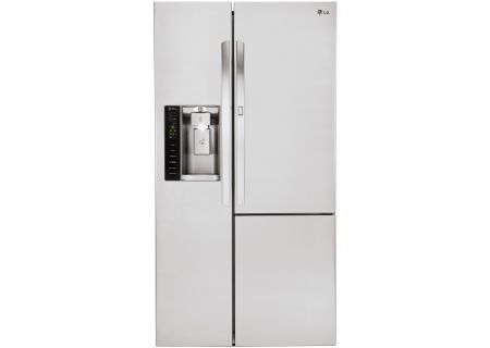 LG Stainless Steel Side-By-Side Counter Depth Refrigerator - LSXC22486S