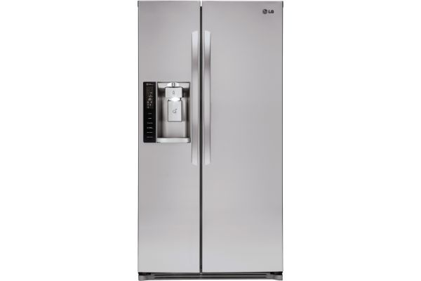 LG Stainless Steel Side-By-Side Refrigerator - LSXS26326S