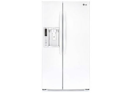 LG White Side-By-Side Refrigerator - LSXS26326W