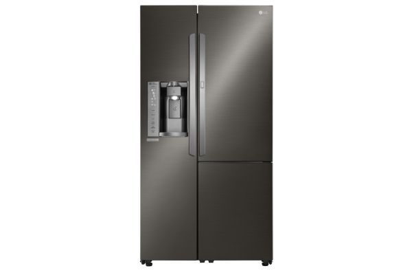 LG 26 Cu. Ft. Black Stainless Steel  Side-By-Side With Door-In-Door Refrigerator  - LSXS26366D