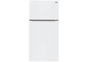 LG - LTC24380SW - Top Freezer Refrigerators