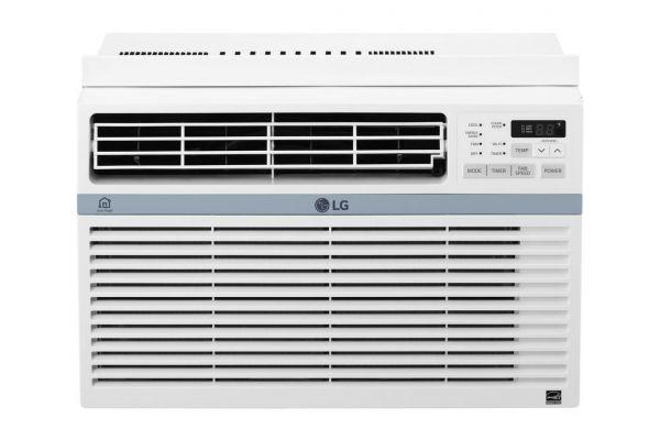 Large image of LG 10,000 BTU 12.1 EER 115V Smart Wi-Fi Enabled Window Air Conditioner - LW1017ERSM