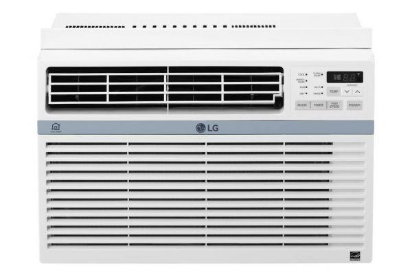 Large image of LG 12,000 BTU 12.1 EER 115V Smart Wi-Fi Enabled Window Air Conditioner - LW1217ERSM