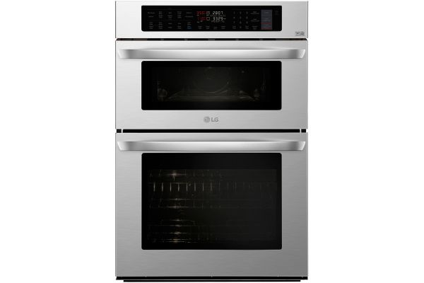 "LG 30"" Stainless Steel Smart Microwave Combination Oven - LWC3063ST"