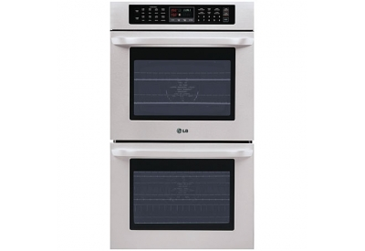 LG - LWD3010ST - Double Wall Ovens